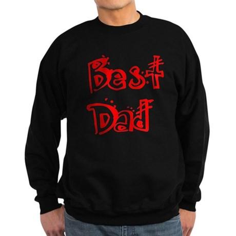 Father's Day Best Dad Sweatshirt (dark)