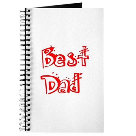 Father's Day Best Dad Journal