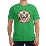 Presidents Seal Men's Fitted T-Shirt (dark)