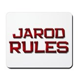jarod rules Mousepad