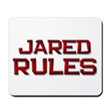 jared rules Mousepad