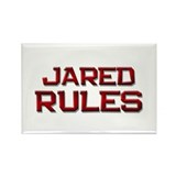 jared rules Rectangle Magnet (10 pack)