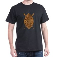 African Shield T-Shirt: Maasai