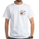 Mens Short Sleeve White PT-Shirt