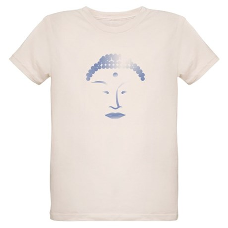 Buddha Head 2 Organic Kids T-Shirt