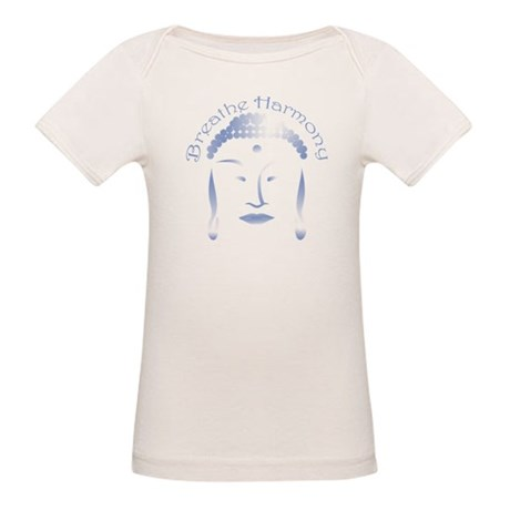 Buddha Head 3 Organic Baby T-Shirt
