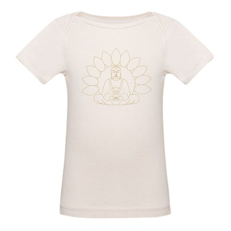 Lotus Buddha Organic Baby T-Shirt