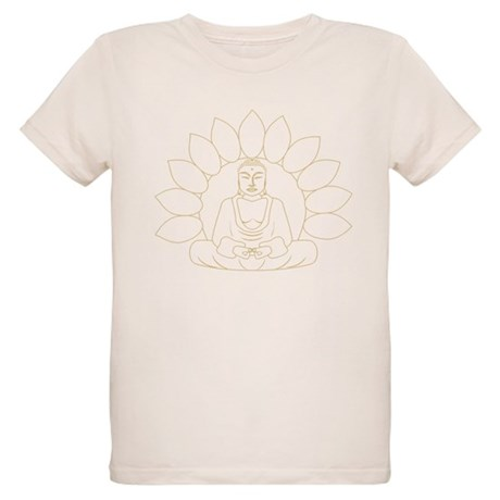 Lotus Buddha Organic Kids T-Shirt