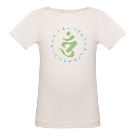 Om Symbol Organic Baby T-Shirt
