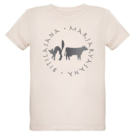 Cat-Cow Organic Kids T-Shirt