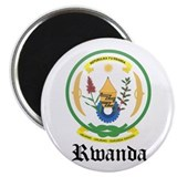 Rwandan Coat of Arms Seal Magnet