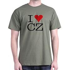 I Love Czech T-Shirt