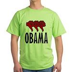 3 Thumbs Down Green T-Shirt