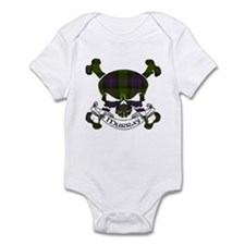 Murray Tartan Skull Infant Bodysuit