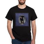 Romping Rottweiler Puppy Dark T-Shirt