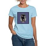 Romping Rottweiler Puppy Women's Light T-Shirt