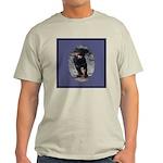 Romping Rottweiler Puppy Light T-Shirt