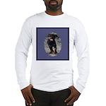 Romping Rottweiler Puppy Long Sleeve T-Shirt