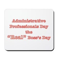 Admin. Professionals Day Mousepad