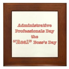 Admin. Professionals Day Framed Tile