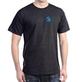 Big Blue Marble Black T-Shirt