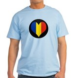 I love Romania Flag T-Shirt