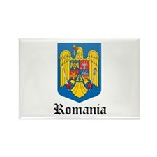 Romanian Coat of Arms Seal Rectangle Magnet