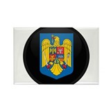 Coat of Arms of Romania Rectangle Magnet