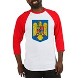 Romania Coat of Arms Baseball Jersey