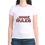 janae rules Jr. Ringer T-Shirt