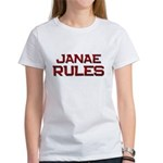 janae rules Women's T-Shirt