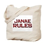 janae rules Tote Bag