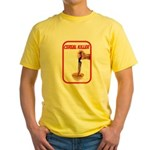 Cereal Killer Yellow T-Shirt