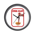 Cereal Killer Wall Clock