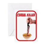 Cereal Killer Greeting Cards (Pk of 20)