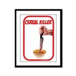 Cereal Killer Framed Panel Print