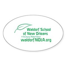 Waldorf School of New Orleans Oval Decal