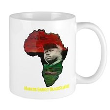 Marcus Garvey Black Starline Mug