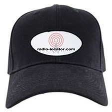 Radio-Locator Black Baseball Cap
