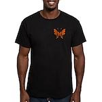 Butterfly Tattoo Men's Fitted T-Shirt (dark)