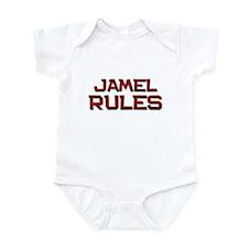jamel rules Infant Bodysuit