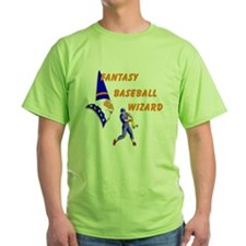 Fantasy Baseball Wizard #3 T-Shirt