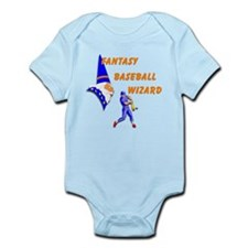 Fantasy Baseball Wizard #3 Infant Bodysuit