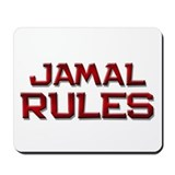 jamal rules Mousepad