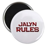 "jalyn rules 2.25"" Magnet (10 pack)"