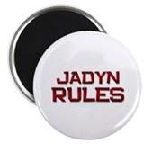 "jadyn rules 2.25"" Magnet (10 pack)"