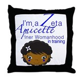 Cute Beta phi Throw Pillow