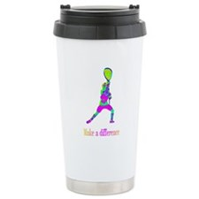 Lacrosse Make A difference Ceramic Travel Mug