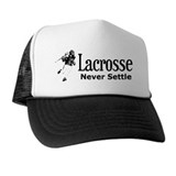 Lacrosse Never Settle Trucker Hat
