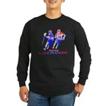 Lacrosse Play Hard Long Sleeve Dark T-Shirt